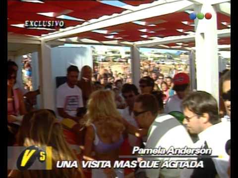 Pamela Anderson En Argentina - Versus