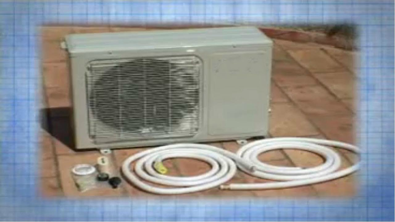 Installation Of An Air Conditioning System Ductless