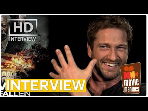 Olympus Has Fallen | Gerard Butler EXCLUSIVE Interview (2013)