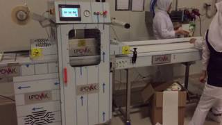 Lipovak KV 1000 automated compact and economical tray sealer