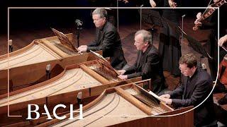 Bach - Concerto for three harpsichords in D minor BWV 1063 - Mortensen   Netherlands Bach Society
