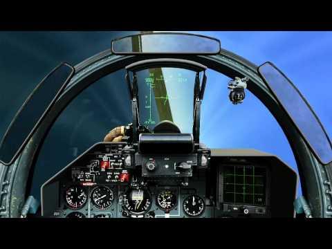 Демонстрация тактики ведения БВБ на Су-27