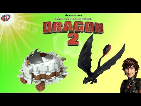 How To Train Your Dragon 2: Toothless vs Dragon Catcher Toy Review. Spin Master