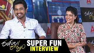 Rangula Ratnam Movie Team SUPER FUN interview | Raj Tarun | Chitra Shukla | Annapurna Studios