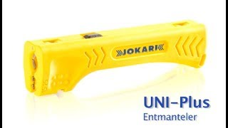 Jokari - Entmanteler Uni-Plus / Cable stripper Uni-Plus