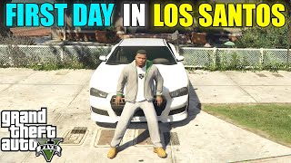 MY FIRST DAY IN LOS SANTOS | GTA V GAMEPLAY#1 | HS GAMING