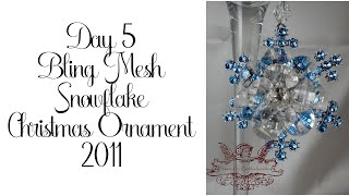 Day 5 of 10 Days of Christmas Ornaments with Cynthialoowho 2011