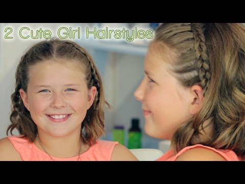 2 Cute Girl Hairstyles!!