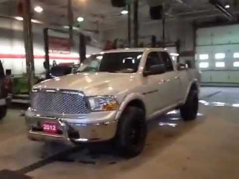 2012 Lifted Dodge Ram 1500 4WD Quad Cab SLT 4 Door ...
