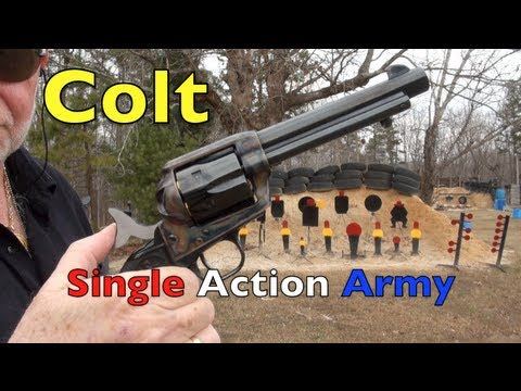 The Colt Single Action Army Revolver