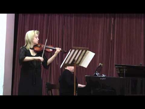 Иоганн Себастьян Бах - Соната для скрипки и клавира №1 си минор