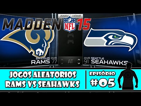 Madden NFL 15 (PS4) - St.Louis Rams X Seattle Seahawks