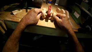 In the Shop with Walter Wooden Tractor Toy Part 2