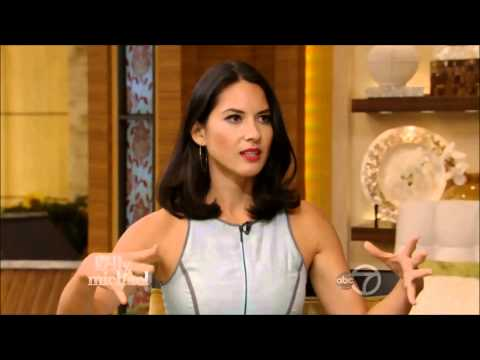 Olivia Munn -  Live With Kelly and Michael 7 8 13