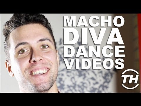 Macho Diva Dance Videos - Trend Hunter Chris DeLuca Unveils an Unlikely Kylie Minogue Impersonator