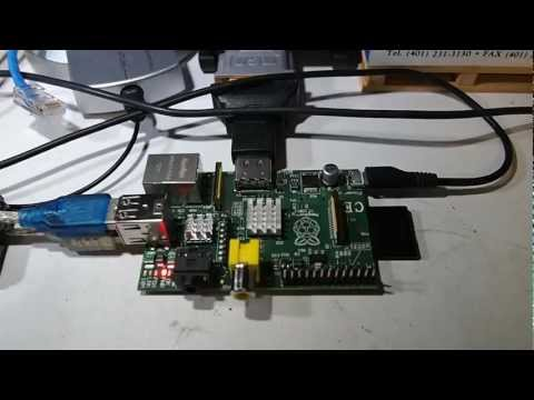Raspberry Pi running Arch and Xastir APRS