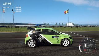 DiRT Rally 2.0 - 2014 Volkswagen Polo S1600 - Car Show Speed Jump Crash Test . 1440p 60fps.