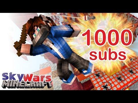 ЛЕТАЮ В ЧЕСТЬ 1000 ПОДПИСЧИКОВ НА СКАЙ ВАРСЕ [VimeWorld Sky Wars Minecraft Mini-Game]