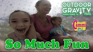 Outdoor Gravity Park Pigeon Forge, TN OGO Cammi and Family On a Roll