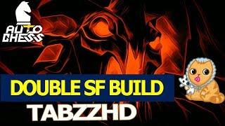 Tabzz - DOUBLE SF BUILD | Human build w/ Kunkka 2 | Dota Auto chess ( tabzzhd )
