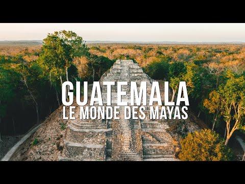 GUATEMALA, LE MONDE DES MAYAS (TIKAL, YAXHA)