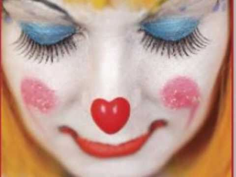 White Face Clown Makeup