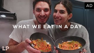 WHAT WE EAT IN A DAY | Lily Pebbles