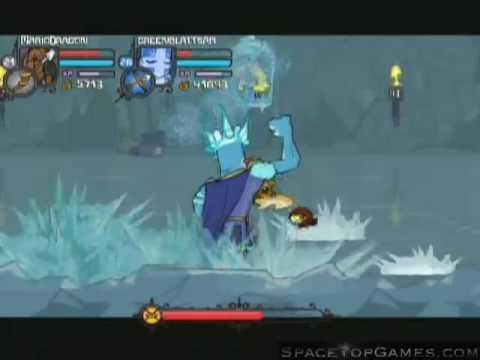 Castle Crashers Walkthrough Part 27 - Ice Boss