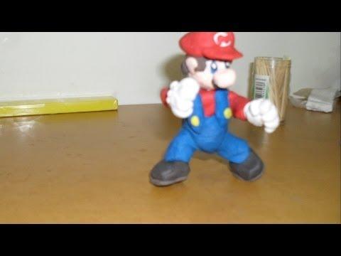 Tutorial- Como hacer a super Mario Bross de plastilina arkwars.ru