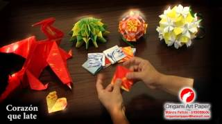 Origami Art Paper - Corazn Que Late