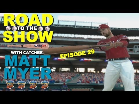 Mlb 14 the show ps4 matt myer catcher road to the show ep29