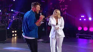 Watch Meghan Trainor And Brett Eldredge Team Up For A 39 Let You Be Right 39 Duet