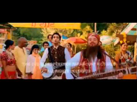 Jessica Alba & Mike Myers in Bollywood style (The Love Guru)