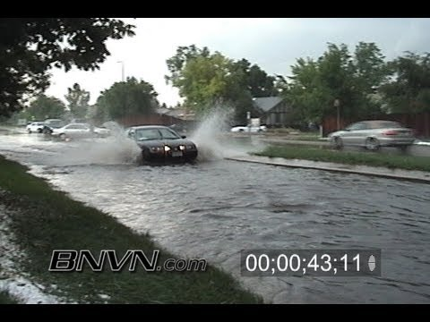6/17/2003 Aurora Colorado Flooding Video
