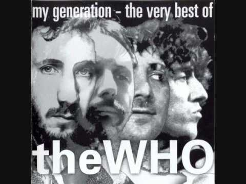 The Who - Anyway, Anyhow, Anywhere