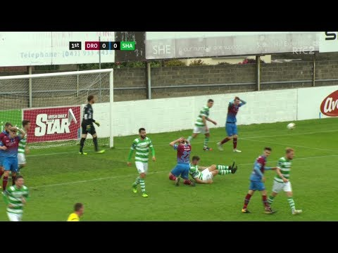 Drogheda United 0-2 Shamrock Rovers - 7th Oct 2017