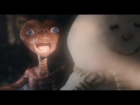 ET vuelve a La Tierra para protagonizar un anuncio navideño