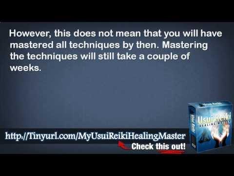 Usui Reiki Healing Mastertm And Usui Reiki Master Teacher