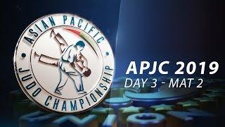 Asia-Pacific Championships Seniors 2019 - Day3-Mat2 - Preliminaries