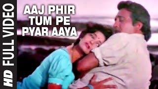 Aaj Phir Tum Pe Pyar Aaya Full HD Song | Dayavan | Vinod Khanna, Madhuri Dixit