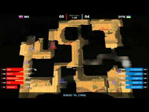 DTS vs M5 Game 2 MSI Beat It! RU 2011