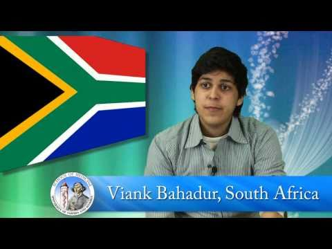 South African Student Interview - School of Medicine