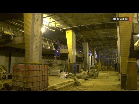 Как строят станцию метро «Петровский парк»