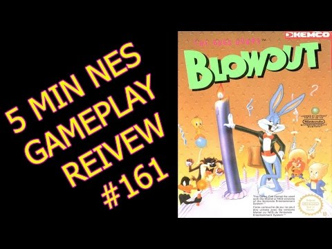 5 Min NES Gameplay reviews #161: Bugs Bunny's birthday blowout