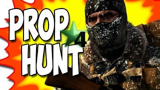 Call of Duty 4:  Prop Hunt Funny Moments!  (GUMMY GARRY!) #12