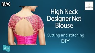 Download High neck blouse 3Gp Mp4