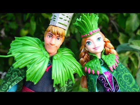 Dramas de princesa Ep. 8 - Serie JUVENIL de Frozen Elsa Anna y princesas de Disney - Buenas noticias