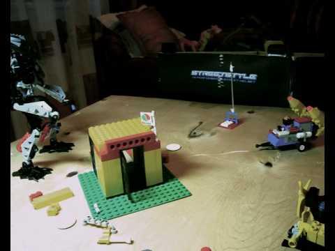 Invasion Lego movie