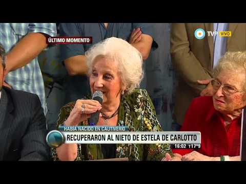 Visión 7 - Recuperaron al nieto de Estela de Carlotto