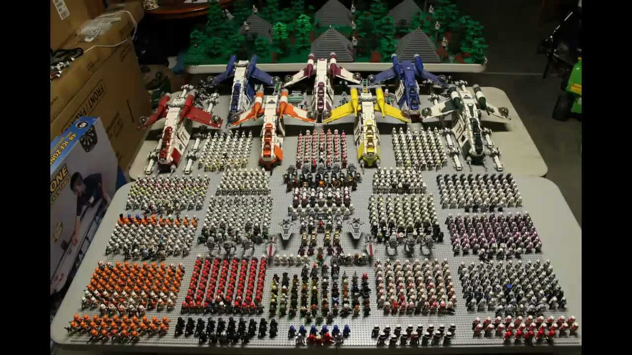 Lego Clone Republic Army Showcase 2012 Youtube